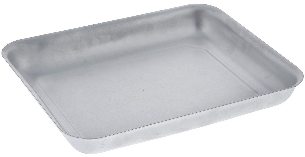 Противень Scovo Малыш, цвет: серебристый, 28 х 22 х 4 смМТ-042Противень Scovo Малыш изготовлен из высококачественного экологически чистого алюминия. Обжаренная на таком противне пища отлично сохраняет свои вкусовые качества и имеет привлекательный, аппетитный вид. Алюминиевая матовая посуда - это давно проверенная классика. Универсальная, долговечная, недорогая, удобная. Не смотря на то, что алюминиевая посуда не обладает привлекательным внешним видом, она может пережить многие испытания и не понести потерь. Ей не страшны перепады температуры, жесткие металлически мочалки и абразивные моющие средства. Даже деформация корпуса не влияет на дальнейший процесс приготовления пищи. Внутренний размер противня: 28 см х 22 см. Внешний размер противня: 30,2 см х 24,2 см х 4 см.