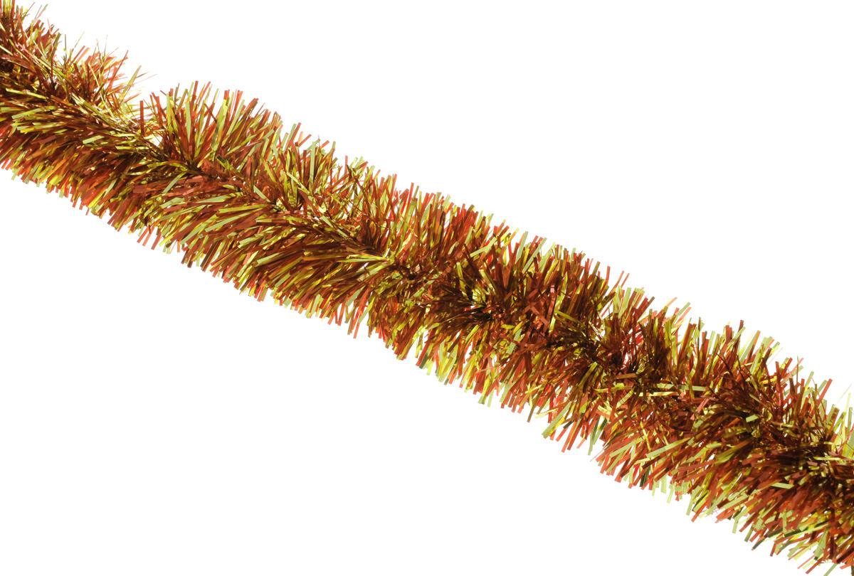 Мишура новогодняя Sima-land, цвет: золотистый, оранжевый, диаметр 6,5 см, длина 140 см627195_оранжевый, желтыйНовогодняя мишура Sima-land, выполненная из фольги, поможет вам украсить свой дом к предстоящим праздникам. А новогодняя елка с таким украшением станет еще наряднее. Мишура армирована, то есть имеет проволоку внутри и способна сохранять приданную ей форму. Новогодней мишурой можно украсить все, что угодно - елку, квартиру, дачу, офис - как внутри, так и снаружи. Можно сложить новогодние поздравления, буквы и цифры, мишурой можно украсить и дополнить гирлянды, можно выделить дверные колонны, оплести дверные проемы. Коллекция декоративных украшений принесет в ваш дом ни с чем несравнимое ощущение праздника! Создайте в своем доме атмосферу тепла, веселья и радости, украшая его всей семьей.