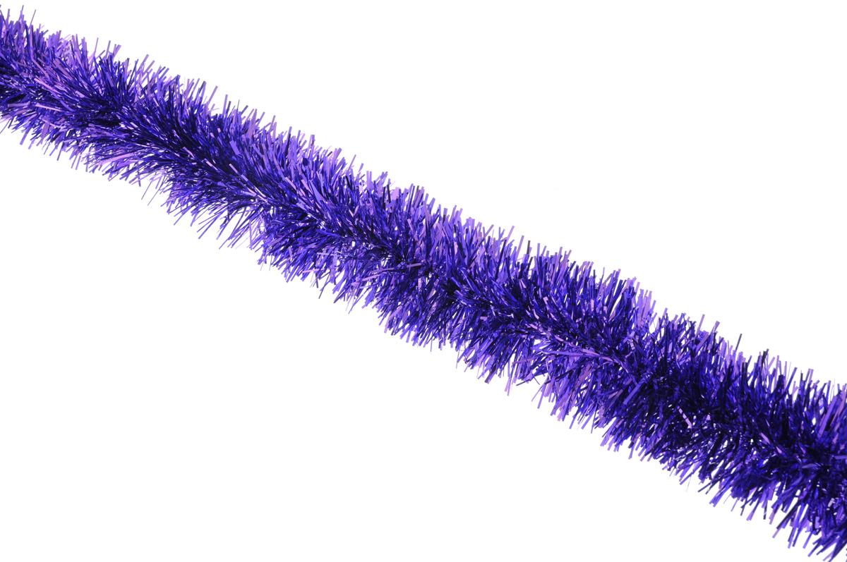 Мишура новогодняя Sima-land, цвет: фиолетовый, диаметр 5 см, длина 160 см627195_фиолетовыйНовогодняя мишура Sima-land, выполненная из фольги, поможет вам украсить свой дом к предстоящим праздникам. А новогодняя елка с таким украшением станет еще наряднее. Мишура армирована, то есть имеет проволоку внутри и способна сохранять приданную ей форму. Новогодней мишурой можно украсить все, что угодно - елку, квартиру, дачу, офис - как внутри, так и снаружи. Можно сложить новогодние поздравления, буквы и цифры, мишурой можно украсить и дополнить гирлянды, можно выделить дверные колонны, оплести дверные проемы. Коллекция декоративных украшений принесет в ваш дом ни с чем несравнимое ощущение праздника! Создайте в своем доме атмосферу тепла, веселья и радости, украшая его всей семьей.