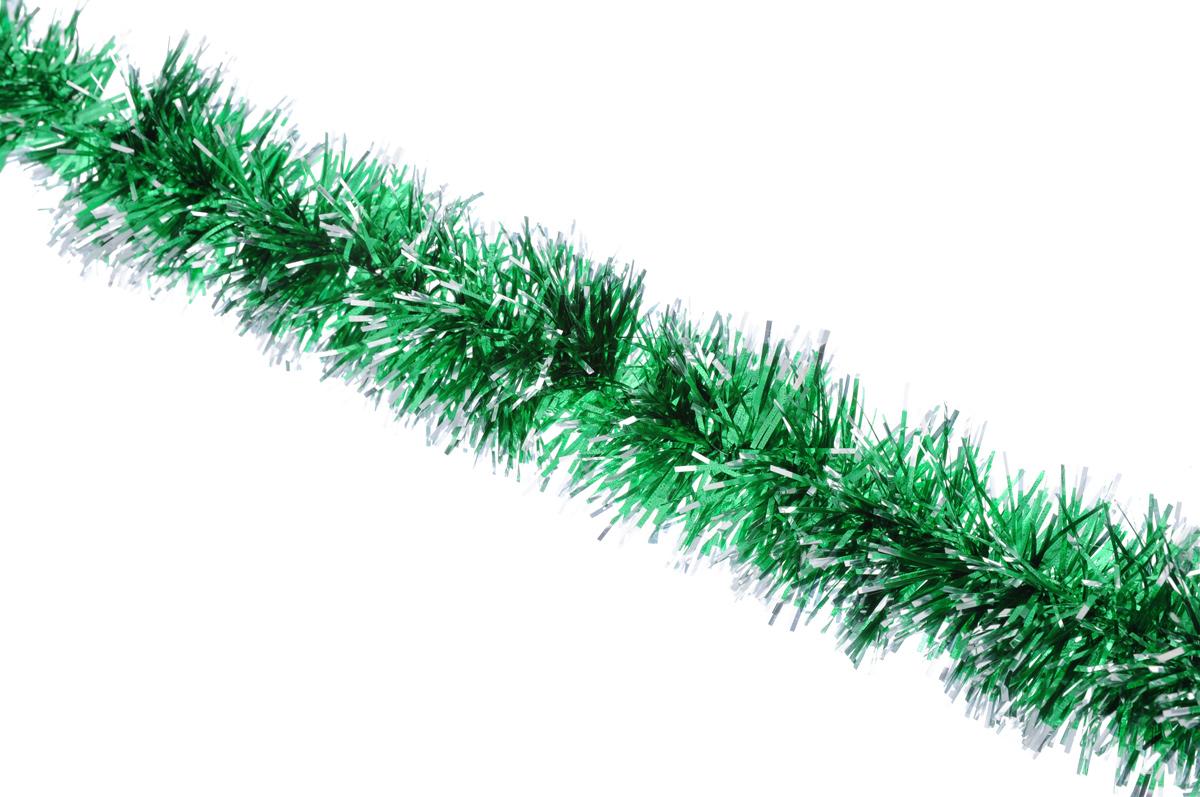 Мишура новогодняя Sima-land, цвет: серебристый, зеленый, диаметр 5 см, длина 160 см627195_серебристый, зеленыйНовогодняя мишура Sima-land, выполненная из фольги, поможет вам украсить свой дом к предстоящимпраздникам. А новогодняя елка с таким украшением станет еще наряднее. Мишура армирована, то есть имеетпроволоку внутри и способна сохранять приданную ей форму.Новогодней мишурой можно украсить все, что угодно - елку, квартиру, дачу, офис - как внутри, так и снаружи.Можно сложить новогодние поздравления, буквы и цифры, мишурой можно украсить и дополнить гирлянды, можновыделить дверные колонны, оплести дверные проемы.Коллекция декоративных украшений принесет в ваш дом ни с чем несравнимое ощущение праздника! Создайте всвоем доме атмосферу тепла, веселья и радости, украшая его всей семьей.
