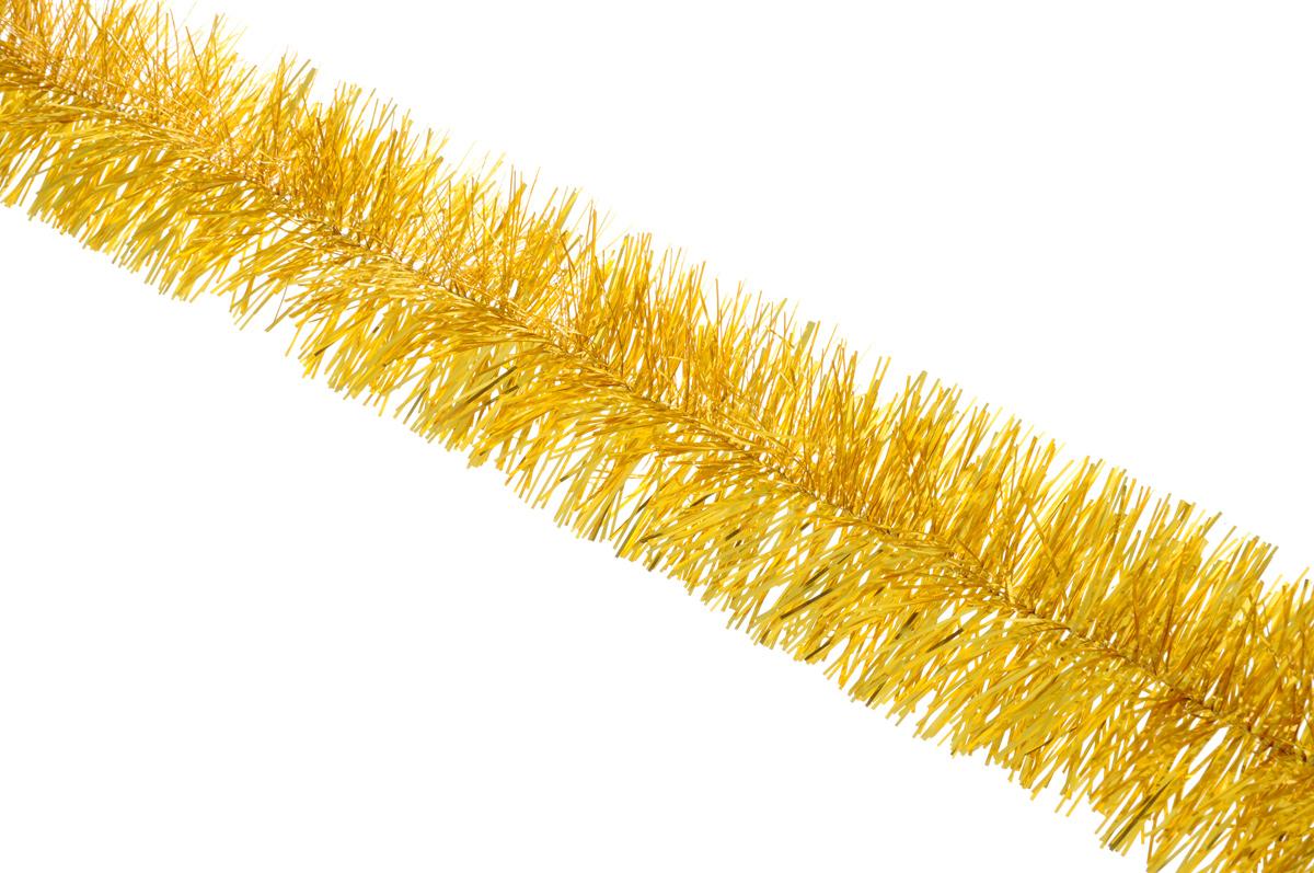 Мишура новогодняя Sima-land, цвет: желтый, диаметр 5 см, длина 160 см627195_желтыйНовогодняя мишура Sima-land, выполненная из фольги, поможет вам украсить свой дом к предстоящимпраздникам. А новогодняя елка с таким украшением станет еще наряднее. Мишура армирована, то есть имеетпроволоку внутри и способна сохранять приданную ей форму.Новогодней мишурой можно украсить все, что угодно - елку, квартиру, дачу, офис - как внутри, так и снаружи.Можно сложить новогодние поздравления, буквы и цифры, мишурой можно украсить и дополнить гирлянды, можновыделить дверные колонны, оплести дверные проемы.Коллекция декоративных украшений принесет в ваш дом ни с чем несравнимое ощущение праздника! Создайте всвоем доме атмосферу тепла, веселья и радости, украшая его всей семьей.