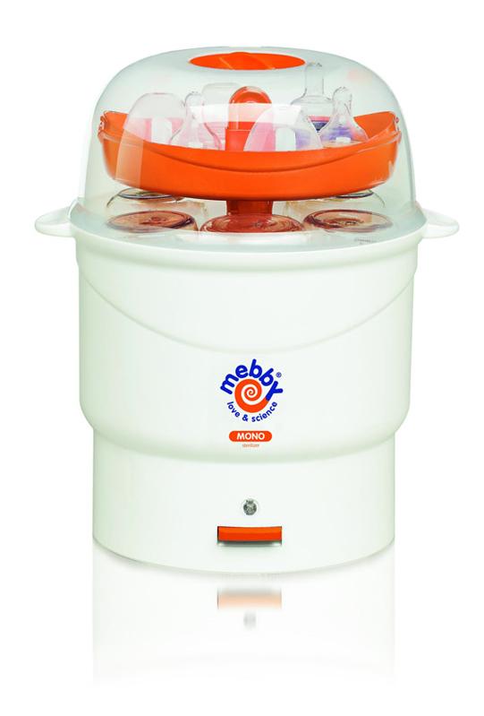 Mebby Моно стерилизатор цвет оранжевый, белый -  Все для детского кормления