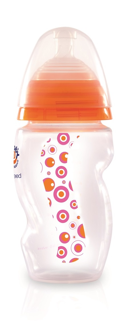 Mebby Бутылочка для кормления с соской 160 мл цвет розовый бутылочки для кормления baby sun love only natural бутылочка для кормления 150 мл силиконовая соска для бутылочек ср п пустышка 6м