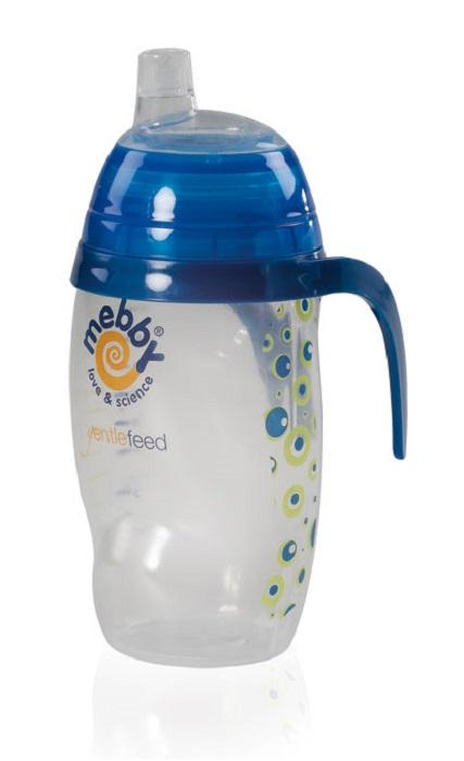 Mebby Чашка-поильник для мальчика Made in Italy от 6 месяцев цвет синий -  Поильники