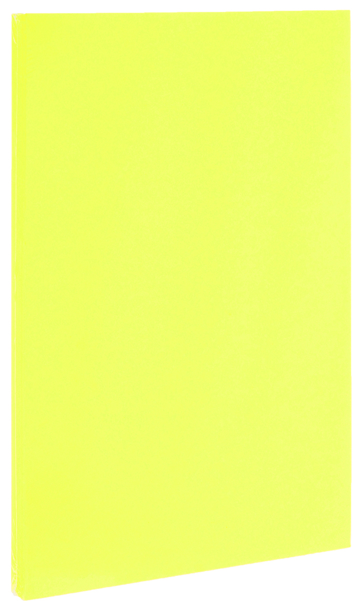 Фотокартон Folia, цвет: лимонный, 21 х 30 см, 50 листов eglo folia 89124