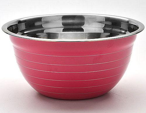 """Фото Миска """"Mayer & Boch"""", цвет: фуксия, диаметр 22 см"""