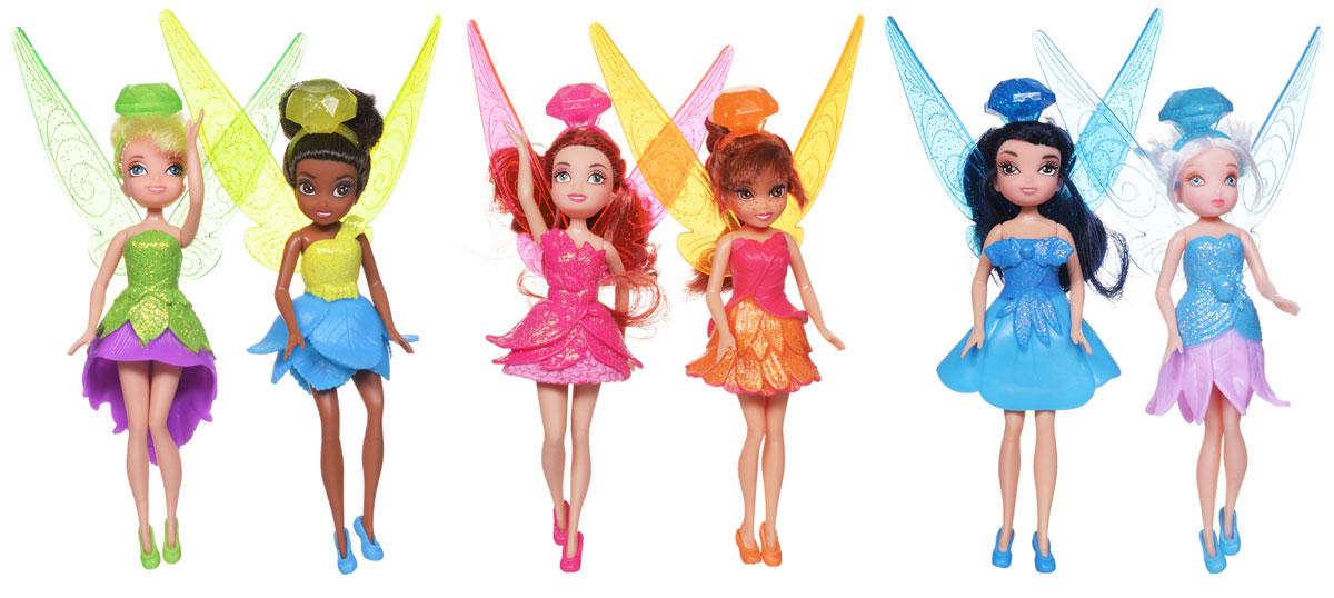 Disney Fairies Набор кукол Феи Диснея 6 шт цена 2017