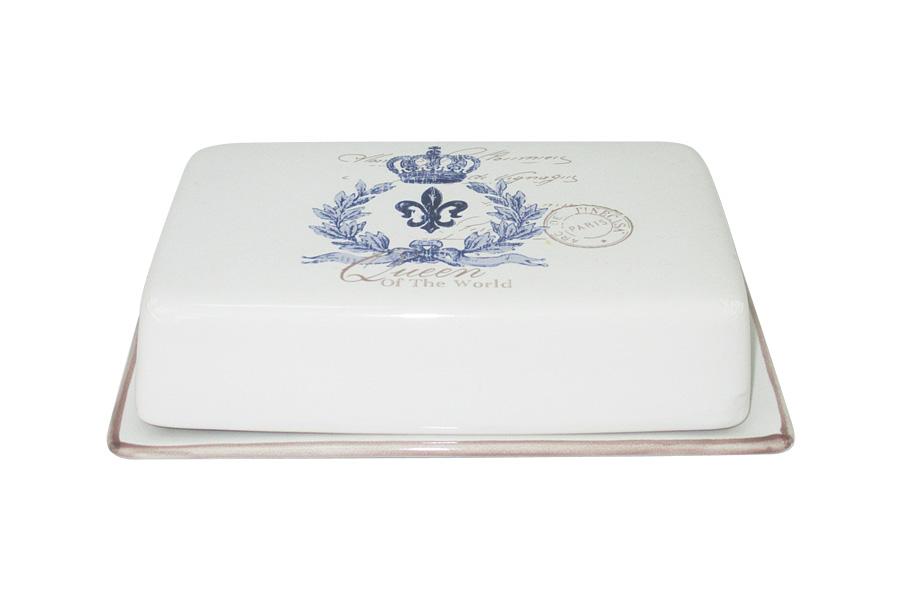 Масленка LF Ceramic КоролевскаяLF-200F5781-ALВеликолепная масленка LF Ceramic, выполненная из высококачественной керамики, предназначена для красивой сервировки и хранения масла. Она состоит из подноса и крышки. Масло в ней долго остается свежим, а при хранении в холодильнике не впитывает посторонние запахи.Масленка LF Ceramic идеально подойдет для сервировки стола и станет отличным подарком к любому празднику.Для изготовления посуды LF Ceramic используется экологически чистая керамика, отличительной особенностью которой является прочность.Посуду LF Ceramic можно использовать в микроволновых печах для приготовления блюд, поскольку эта керамика выдерживает высокие температуры. Мыть керамическую посуду рекомендуется теплой водой с небольшим количеством моющих средств. Лучше не использовать абразивные пасты и металлические мочалки. Допускается мытье в посудомоечной машине при соблюдении инструкции изготовителя посудомоечной машины.
