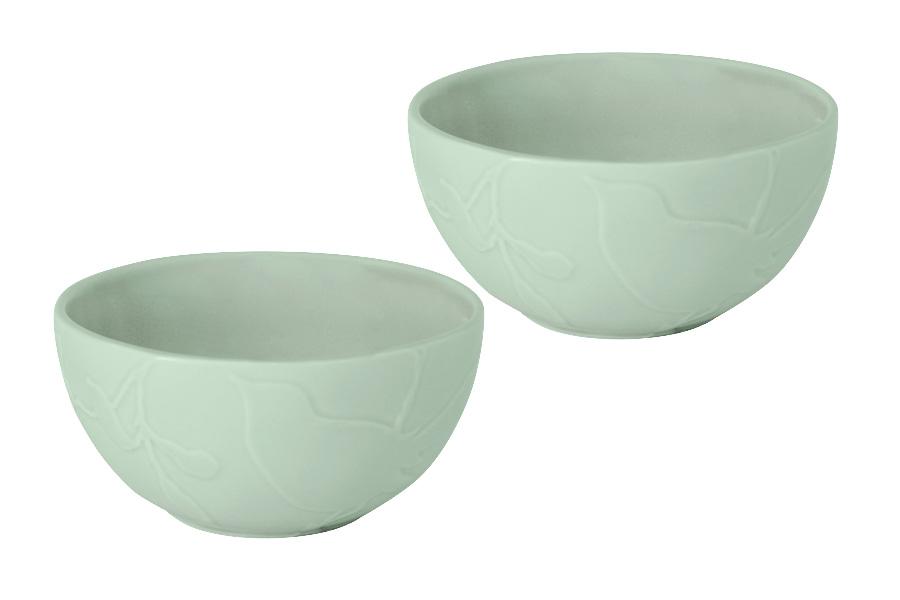 Набор салатников SantaFe Птицы, 2 штSL-SB15107gr-ALНабор SantaFe Птицы состоит из 2 салатников. Изделия, изготовленные из высококачественной керамики, сочетают в себе изысканный дизайн с максимальной функциональностью. Они идеально подходят для сервировки стола и подачи закусок, солений и других блюд. Такие салатники прекрасно впишутся в интерьер вашей кухни и станут достойным дополнением к кухонному инвентарю.Диаметр салатника (по верхнему краю): 14 см.