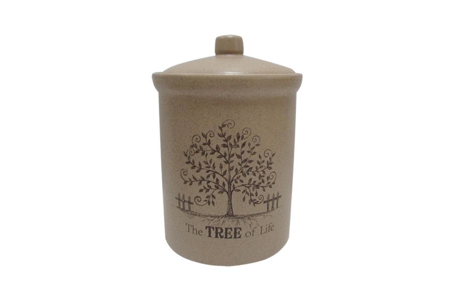 Банка для сыпучих продуктов Terracotta Дерево жизни, высота 14 см кувшин terracotta дерево жизни tly1128 tl al