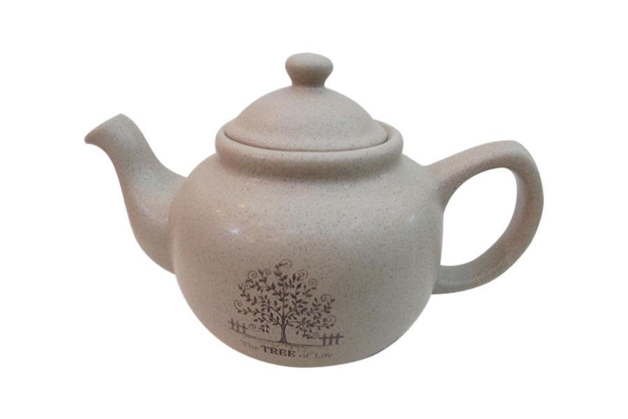 Чайник заварочный Terracotta Дерево жизни, 1 л чашка с блюдцем terracotta дерево жизни tly314s2 tl al