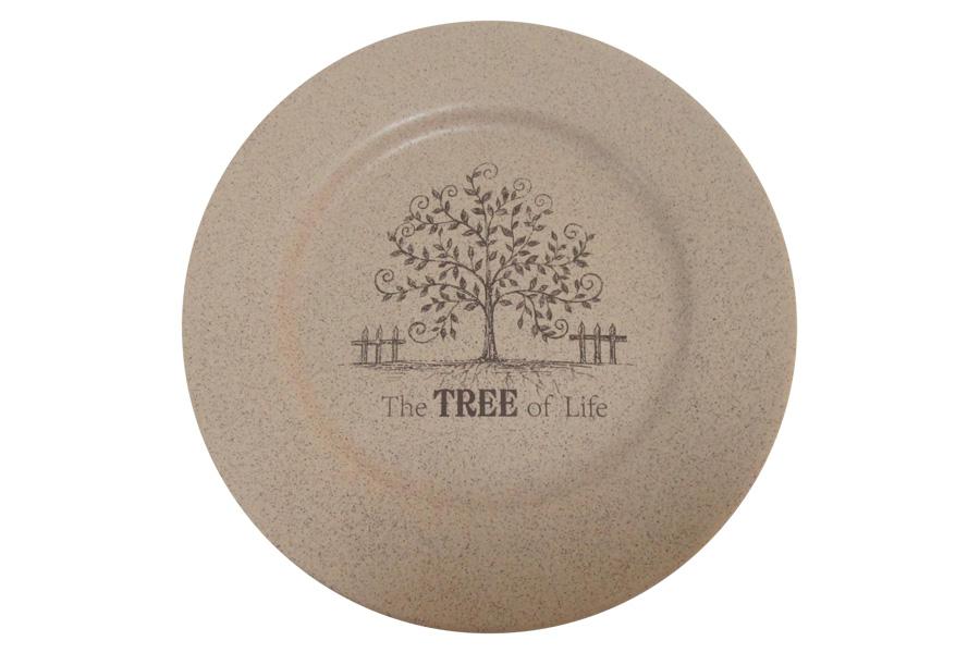 Тарелка обеденная Terracotta Дерево жизни, диаметр 26 см тарелка обеденная terracotta дерево жизни диаметр 26 см