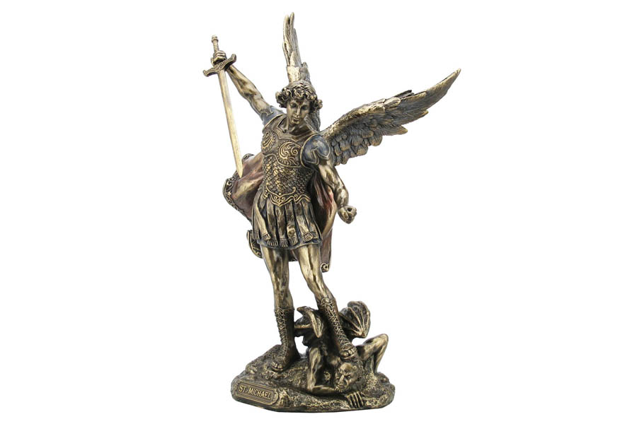 Статуэтка Veronese Святой Михаил с мечем, высота 26,5 см