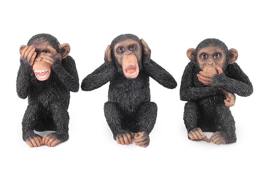 Композиция из 3-х статуэток Три обезьяны. VWU76437YAALVWU76437YAALVeronese - это торговая марка, представляющая широкий ассортимент художественных изделий из полистоуна, выполненных по эскизам итальянских дизайнеров и художников. Полистоун представляет собой специальную массу с полимерными связующими материалами, которые абсолютно не токсичны.