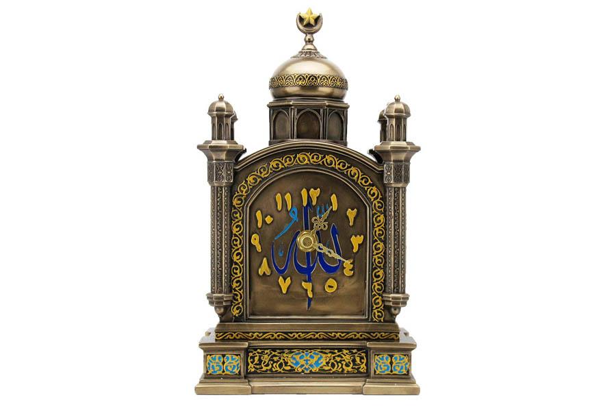 Часы каминные Арабеска. VWU76589A4ALVWU76589A4ALVeronese - это торговая марка, представляющая широкий ассортимент художественных изделий из полистоуна, выполненных по эскизам итальянских дизайнеров и художников.Полистоун представляет собой специальную массу с полимерными связующими материалами, которые абсолютно не токсичны.