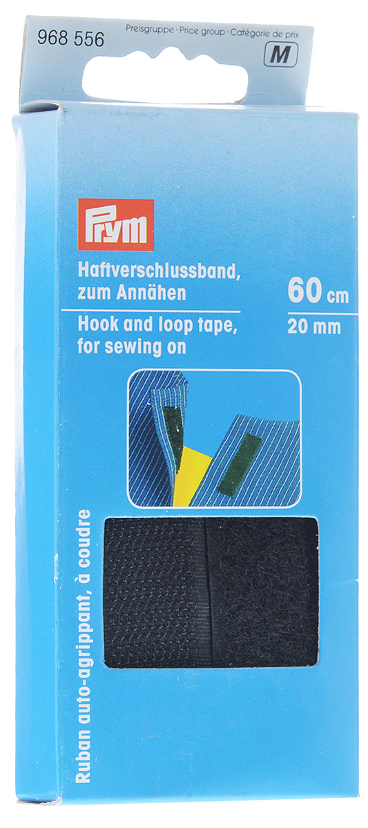 Лента контактная Prym, пришиваемая, 58 х 2 см342619Контактная лента Prym изготовлена из высококачественного полиамида. Липучка (велькро) состоит из двух частей - ленты с петлями и ленты с крючками, которые сцепляются между собой и разъединяются при значительном усилии. Область применения контактной ленты весьма широка, ее можно использовать для изготовления одежды, обуви, игрушек, в мебельном производстве. Длина ленты: 58 см. Ширина ленты: 2 см.