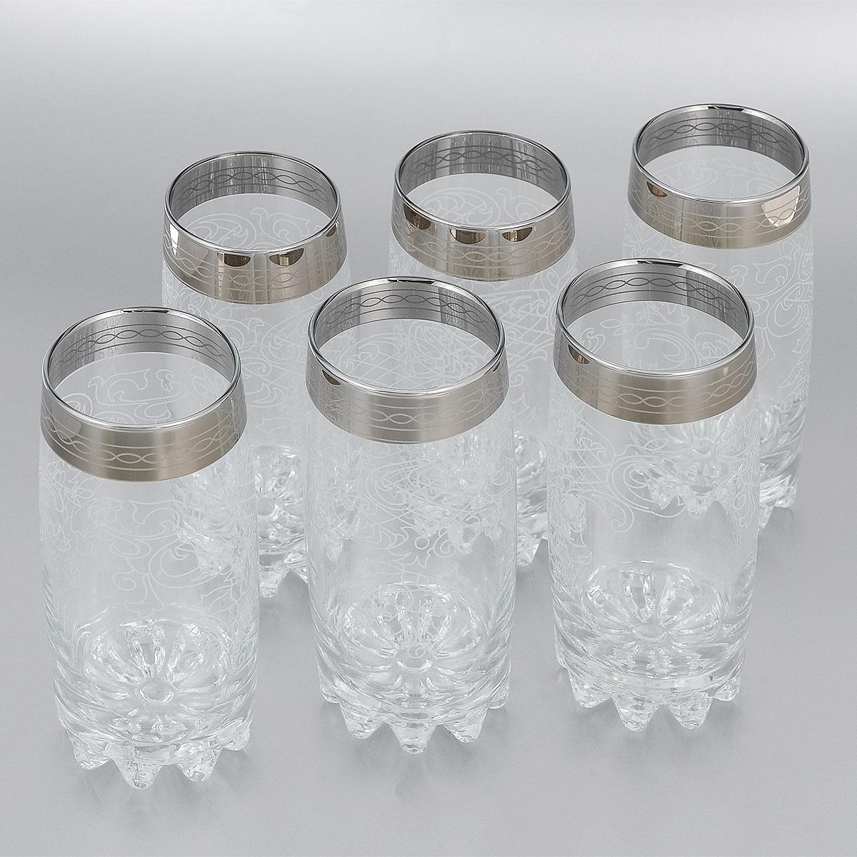 Набор стаканов для коктейля Гусь-Хрустальный Люция, 390 мл, 6 шт812/03Набор стаканов для коктейлей Гусь-Хрустальный Люция изготовлен из натрий-кальций-силикатного стекла. Набор состоит из 6 стаканов, выполненных в элегантном дизайне. Такие стаканы украсят любой праздничный стол.Набор стаканов для коктейлей может стать отличным подарком к любому празднику. Можно мыть в посудомоечной машине.Диаметр стакана по верхнему краю: 6 см.Высота стакана: 14,7 см.