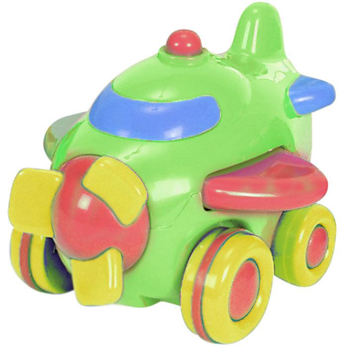 Simba Самолет инерционный цвет зеленый simba паровоз инерционный цвет желтый