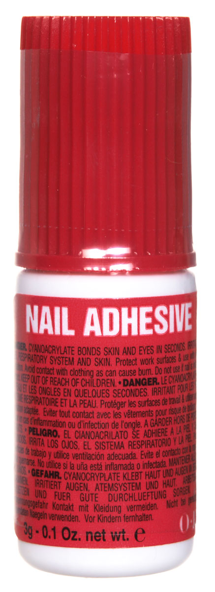 OPI Nail Adhesive Клей для типс, 3 мл opi лосьон двойная защита для ног feet by opi double coverage lotion 177 мл opi