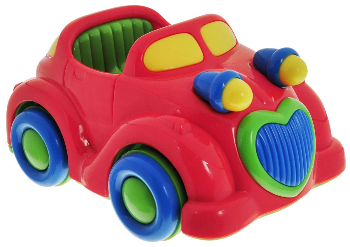 Simba Машинка инерционная цвет красный simba паровоз инерционный цвет желтый