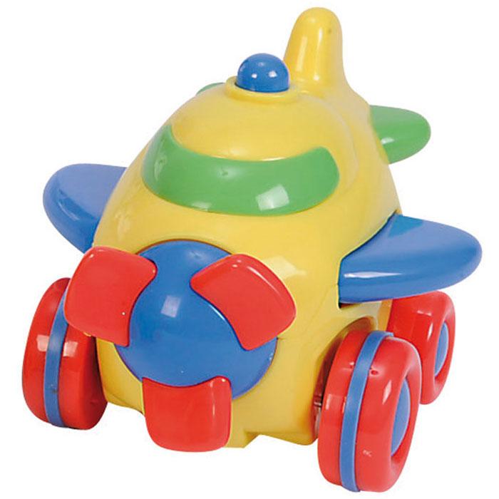 Simba Самолет инерционный цвет желтый simba паровоз инерционный цвет желтый