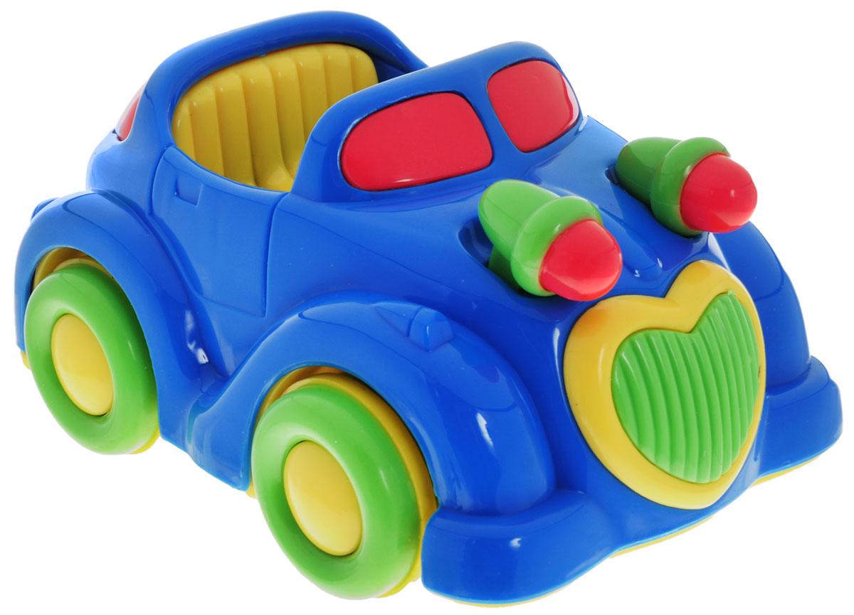Simba Машинка инерционная цвет синий пламенный мотор машинка инерционная volvo пожарная охрана