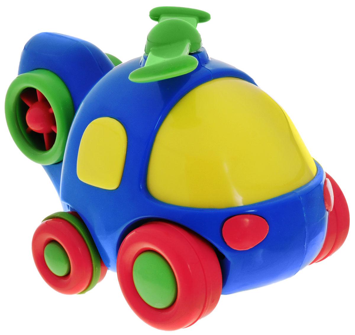 Simba Вертолет инерционный цвет синий simba машинка игрушка лев