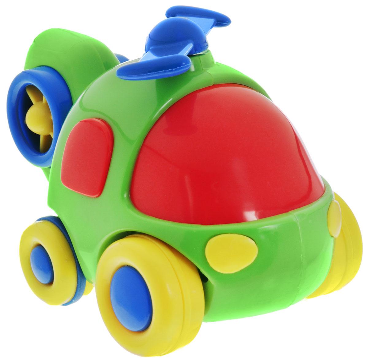 Simba Вертолет инерционный цвет салатовый simba машинка игрушка лев