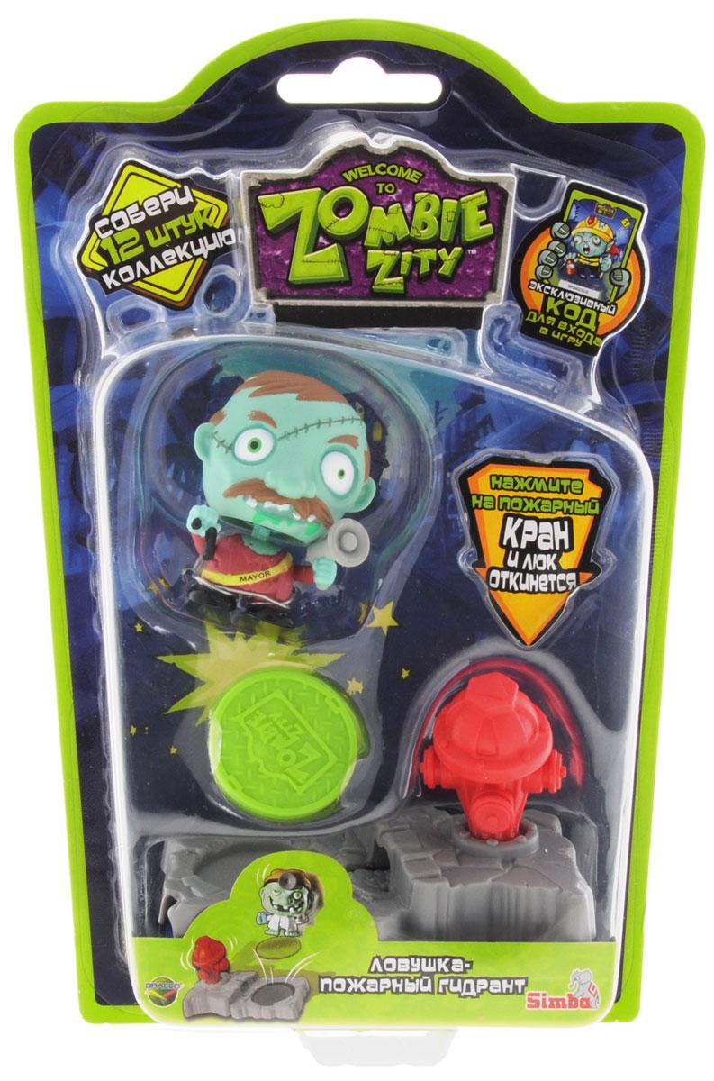 Zombie ZityИгровой набор Ловушка для зомби Пожарный гигант Dracco Macau Ltd.
