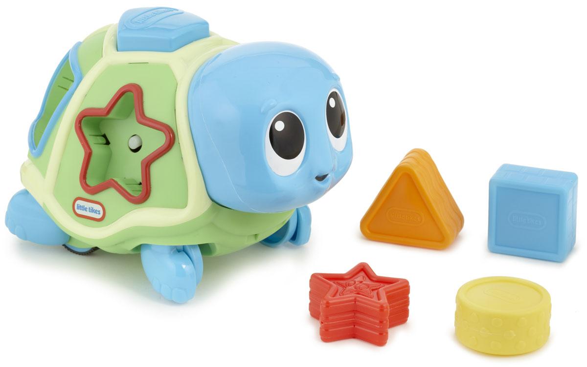 Little Tikes Развивающая игрушка-сортер Ползающая черепаха купить каталка little tikes
