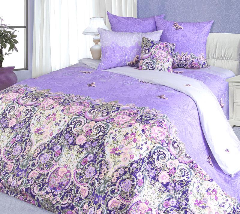 """Великолепное постельное белье Текс-Дизайн """"Мадонна 2"""" выполнено из высококачественного перкаля (100% хлопок) и украшено роскошным цветочным узором. Комплект состоит из пододеяльника, простыни и двух наволочек. Перкаль - это тонкая и легкая хлопчатобумажная ткань высокой плотности полотняного переплетения, сотканная из пряжи высоких номеров. При изготовлении перкаля используются длинноволокнистые сорта хлопка, что обеспечивает высокие потребительские свойства материала. Несмотря на свою утонченность, перкаль очень практичен - это одна из самых износостойких тканей для постельного белья."""