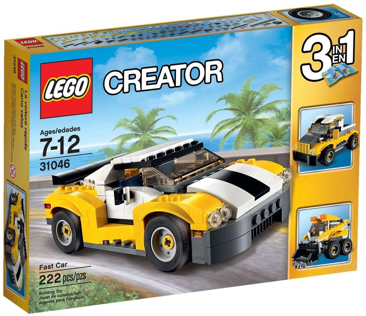 LEGO Creator Конструктор Кабриолет 31046 lego creator конструктор летающий робот 31034
