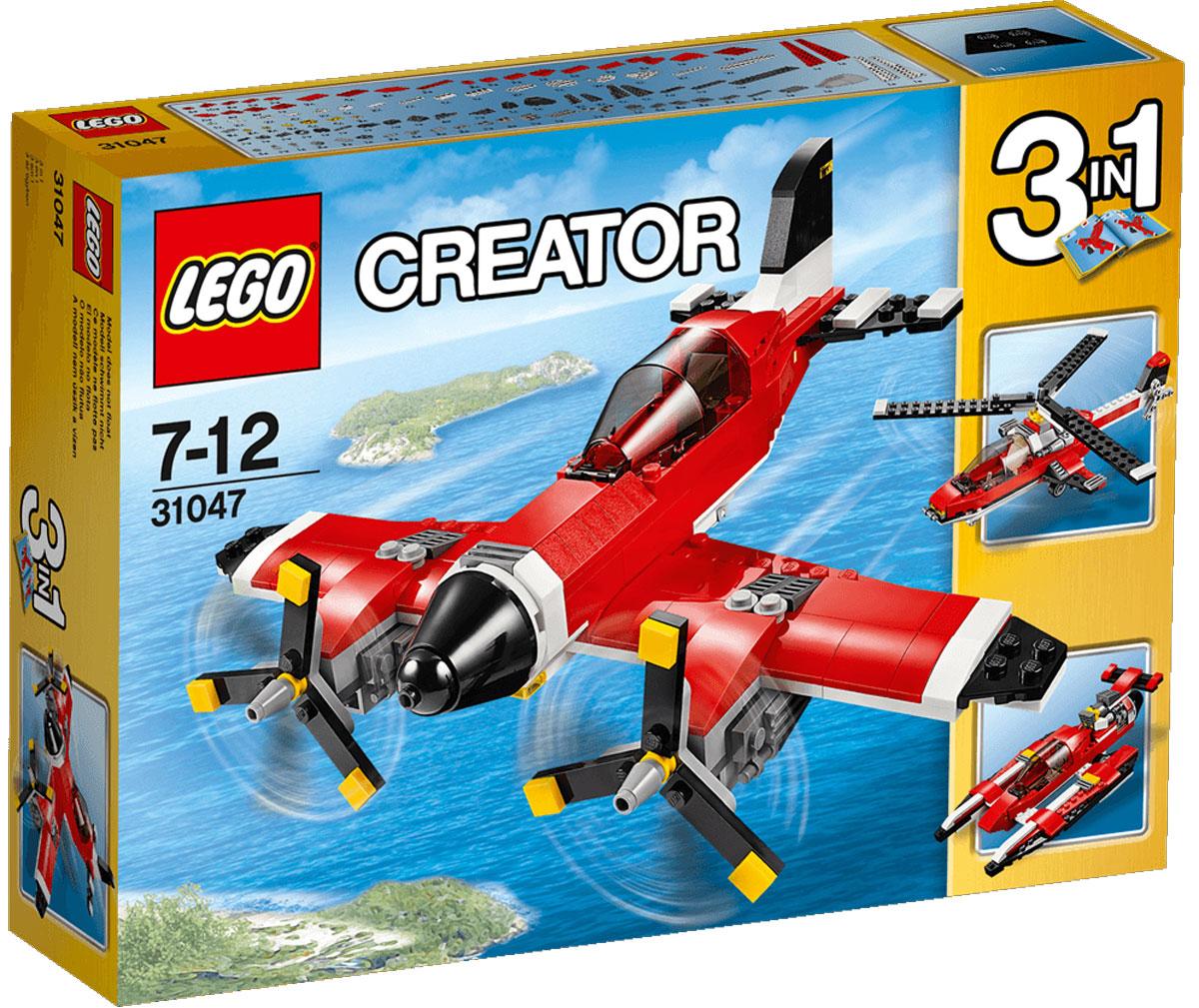 LEGO Creator Конструктор Путешествие по воздуху 31047 lego creator конструктор летающий робот 31034