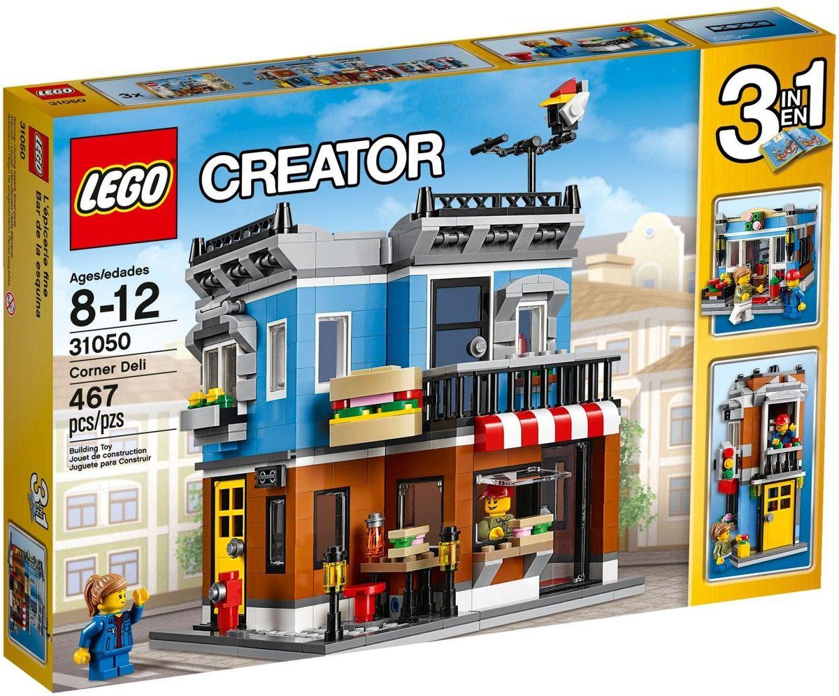 LEGO Creator Конструктор Магазинчик на углу 31050 lego creator конструктор летающий робот 31034