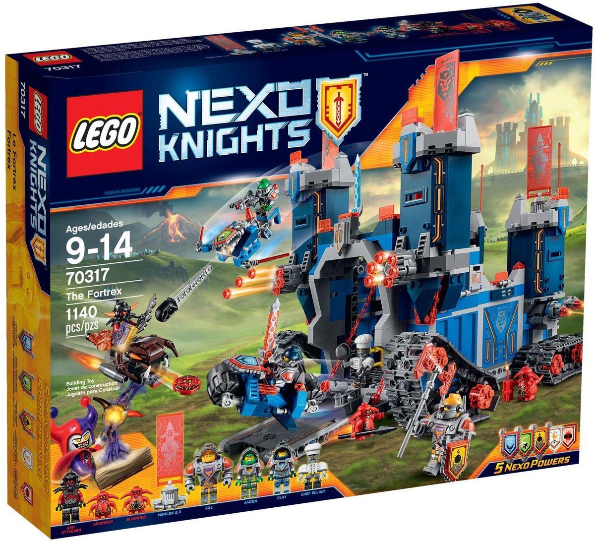 LEGO NEXO KNIGHTS Конструктор Фортрекс мобильная крепость 70317 lego джестро мобиль 70316