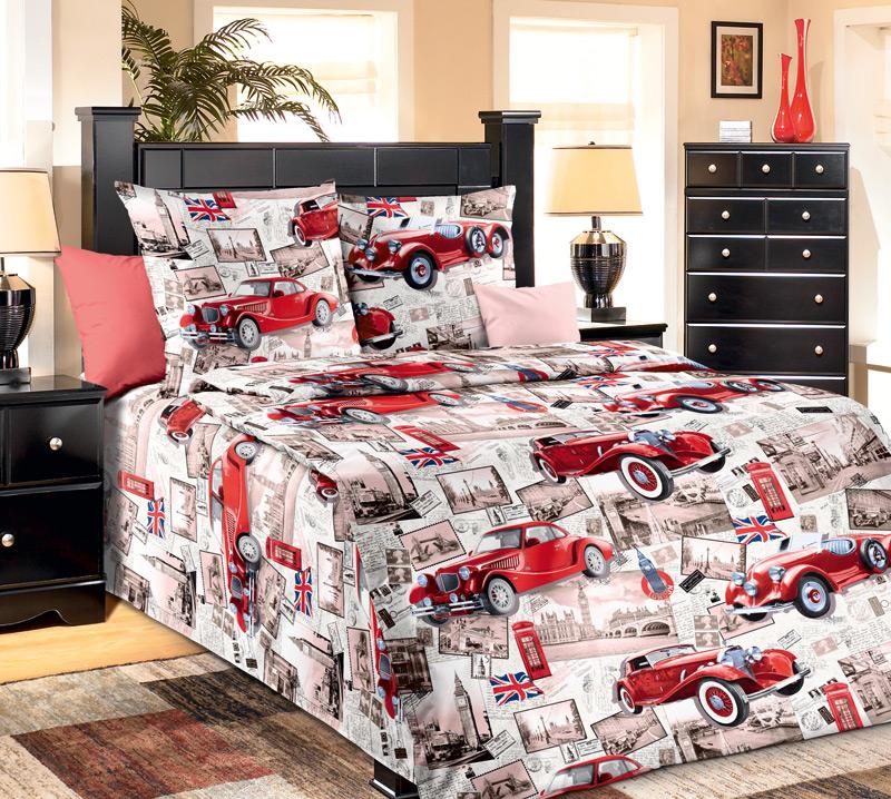 Комплект белья Белиссимо Ретро, 1,5-спальный, наволочки 70х701100АВеликолепное постельное белье Белиссимо Ретро выполнено из высококачественной бязи (100% хлопок) и украшено ретро-снимками, старинными авто и другими винтажными вещами. Комплект состоит из пододеяльника, простыни и двух наволочек. Бязь - хлопчатобумажная плотная ткань полотняного переплетения. Отличается прочностью и стойкостью к многочисленным стиркам. Бязь считается одной из наиболее подходящих тканей, для производства постельного белья и пользуется в России большим спросом.