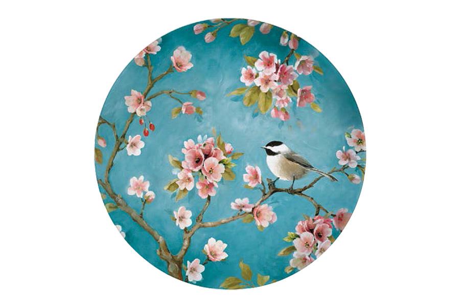 Тарелка десертная Nuova R2S Сакура, диаметр 19 смR2S324/BLOS-ALТарелка десертная Nuova R2S Сакура, выполненная из высококачественного фарфора, имеет изысканный дизайн. Изделие декорировано красочным изображением птички на ветке с сакурой. Дизайн изделия придется по вкусу ценителям классических утонченных вещей. Тарелка предназначена для подачи десертов.Тарелка десертная Nuova R2S Сакура идеально подойдет для сервировки стола и станет отличным подарком к любому празднику. Диаметр тарелки (по верхнему краю): 19 см.