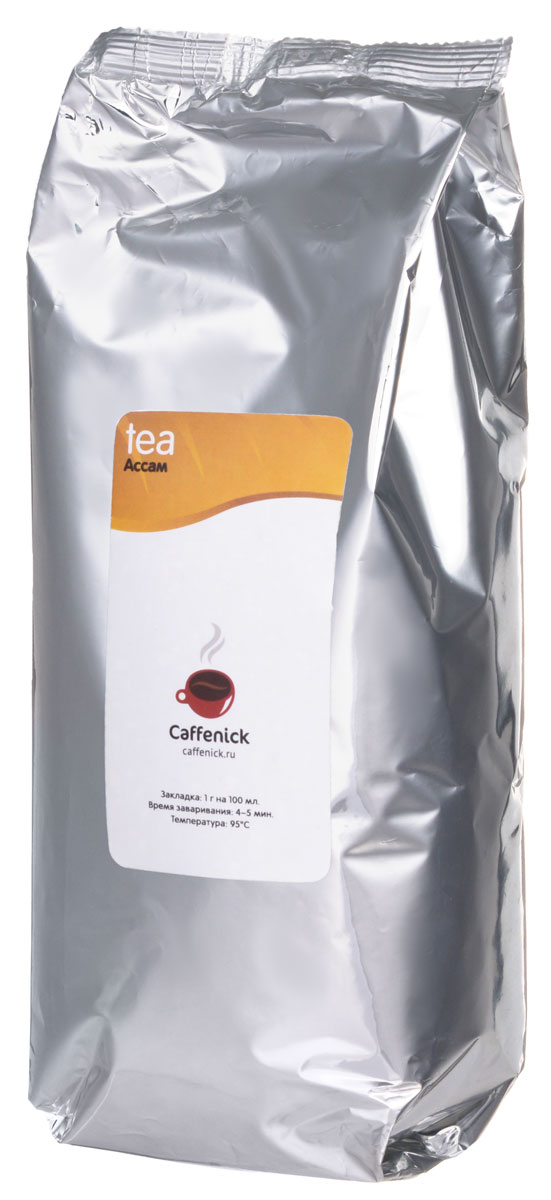 Caffenick Ассам черный листовой чай, 500 г4610001572862Черный чай Caffenick  Ассам обладает прекрасным медовым ароматом. Терпкий и крепкий, он прекрасно подходит для завтрака или употребления с молоком. Этот чай отлично взбодрит утром и освежит в течение дня.