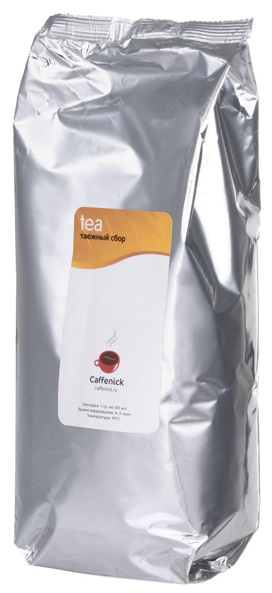 Caffenick Таежный сбор черный листовой чай, 500 г caffenick caffenick дарджилинг 500
