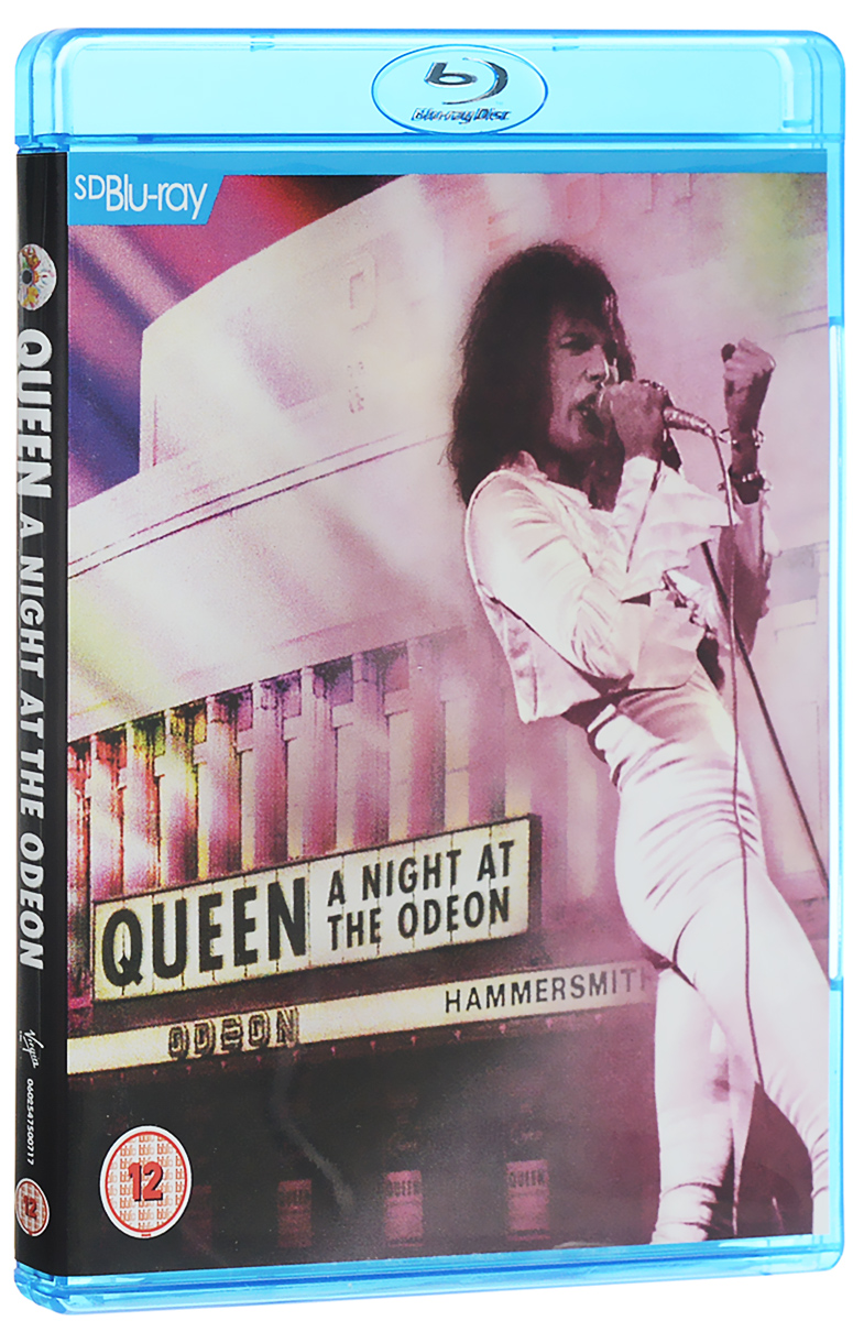 Queen. A Night At The Odeon (Blu-ray) queen queen a night at the odeon anniversary limited edition cd lp dvd blu ray