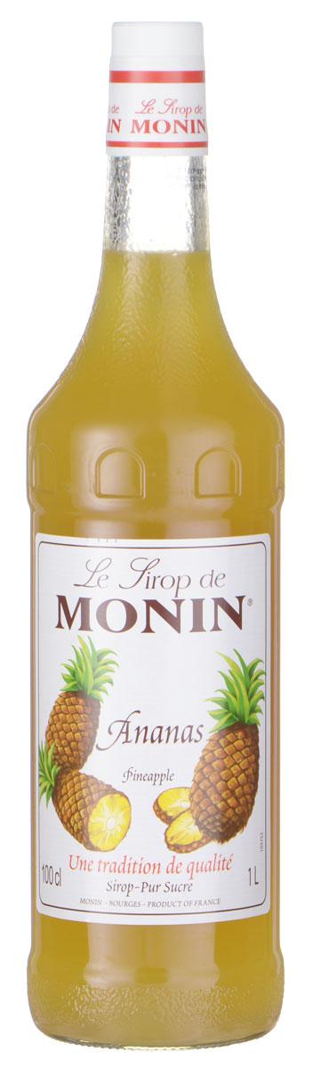 Monin Ананас сироп, 1 лSMONN0-000051Ананасовый сироп Monin имеет сочный и освежающий вкус. Он идеально подходит для газированных напитков, коктейлей и пуншей.Испанские исследователи обнаружили ананас в пышной тропической части Южной Америки и привезли фрукты в Европу. Они думали, что ананасы похожи на сосновые шишки, поэтому они назвали их Pina. Британцы добавили Яблоко в переводе сердцевина (сосны) и восхитительное английское название плода было сделано. Когда речь идет о чистом вкусе ананаса, сироп Monin - самый легкий выбор акцентировать бесчисленные напитки.Сиропы Monin выпускает одноименная французская марка, которая известна как лидирующий производитель алкогольных и безалкогольных сиропов в мире. В 1912 году во французском городке Бурже девятнадцатилетний предприниматель Джордж Монин основал собственную компанию, которая специализировалась на производстве вин, ликеров и сиропов. Место для завода было выбрано не случайно: город Бурже находился в непосредственной близости от крупных сельскохозяйственных районов — главных поставщиков свежих ягод и фруктов.