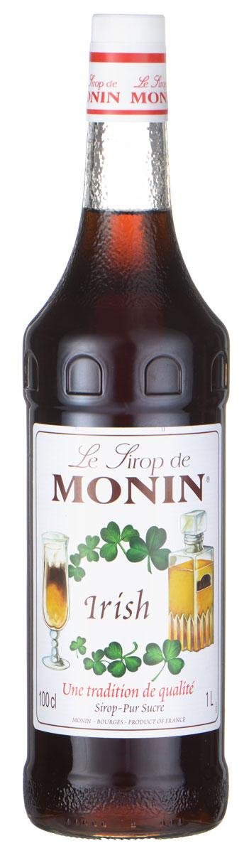 Monin Ирландский сироп, 1 л миндальный сироп для кофе