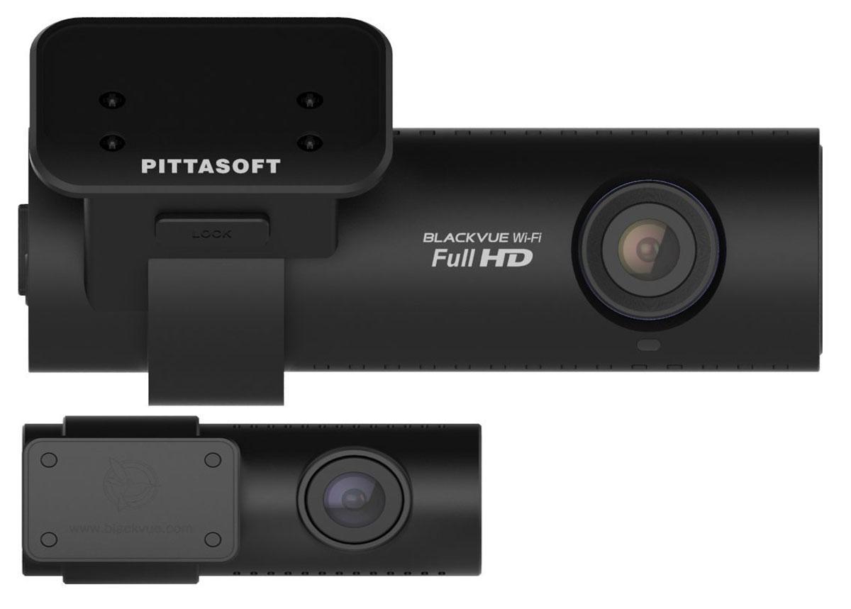 BlackVue DR650GW-2CH видеорегистраторDR650GW-2CH BlackBlackvue DR650GW-2CH - автомобильный видеорегистратор, который позволит производить качественную видеосъемку и является практически незаметным после установки в автомобиле. Данная модель оснащена Wi-Fi модулем, благодаря которому отснятые материалы можно просматривать на смартфонах, планшетных компьютерах и прочих устройствах. Видеорегистратор производит запись в циклическом режиме, без потери фрагментов, также имеется датчик удара.Full HD + HD 2 CH BlackVue Wi-FiПревосходный двухканальный автопомощник, записывающий видео по обе стороны движения: спереди и сзади. Основная камера, установленная на лобовом стекле,охватывает обзор всей дороги впереди. Вторая камера, которая крепится на заднем стекле, фиксирует обстановку позади автомобиля.Обе камеры соединены высококачественным коаксиальным кабелем. Передние Full HD и RERA HD камеры обеспечивают наилучший угол обзора.Встроенный модуль WiFi гарантирует связь вашего смартфона или планшета с видеорегистратором с помощью бесплатного приложения BlackVue App: вы можете смотреть видео в режиме онлайн или в записи, не извлекая карту microSD.Стильный и компактный корпус устройства, выполненный в матовом чёрном цвете, прекрасно впишется в салон любого автомобиля и не будет мешать обзору.