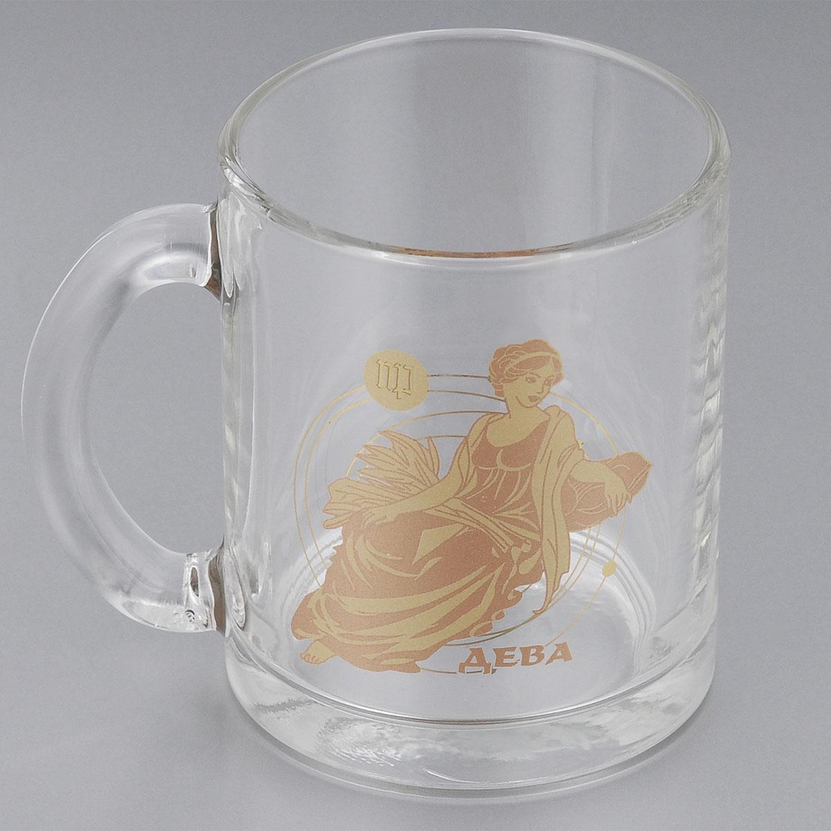 Кружка чайная ОСЗ Знаки зодиака. Дева, 330 мл кружка фарфор вербилок знаки зодиака 250 мл