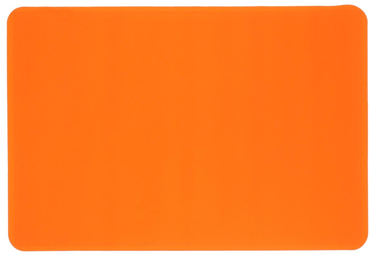 Коврик для теста Marmiton, силиконовый, цвет: оранжевый, 48 см х 36 см17010_оранжевыйСиликоновый коврик Marmiton подходит для раскатки теста и обработки других продуктов. Онидеально прилегает к поверхности стола. Также коврик можно использовать вдуховках и микроволновых печах при температуре от -40°С до +240°С. Материал легко моется,устойчив к фруктовым кислотам. Коврик оснащен мерной шкалой по краю и круглым шаблономдля теста по центру. Раскатывая тесто на таком коврике, вы всегда сможете придать ему нужныйразмер.