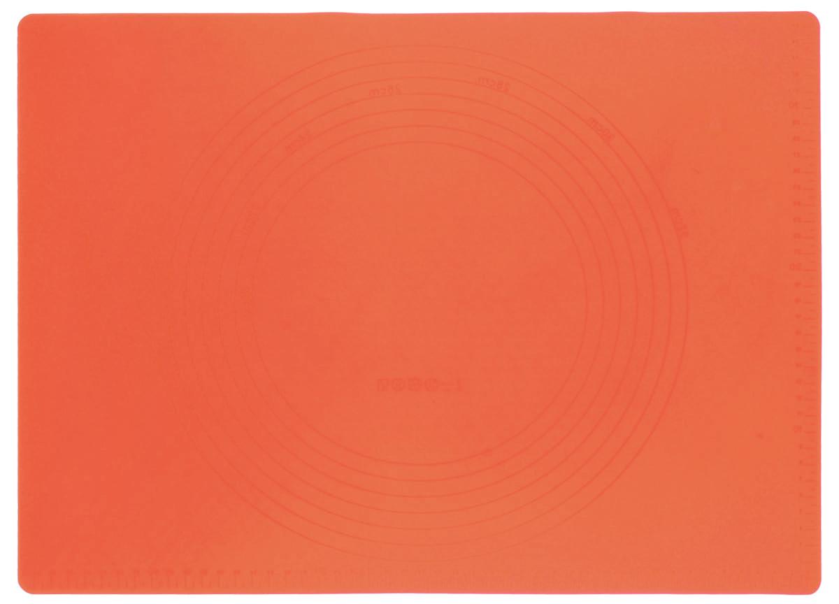 Коврик силиконовый Mayer & Boch, цвет: оранжевый, 42 х 28 см21993Силиконовый коврик Mayer & Boch предназначен для приготовления выпечки. Он быстро нагревается, равномерно пропекает, не допускает подгорания выпечки с краев или снизу. Нет необходимости смазывать коврик маслом. Вынимать продукты из изделия очень легко. Коврик не ржавеет и на нем не образуются пятна. Нет необходимости изменять температуру приготовления.Можно использовать в микроволновой печи, духовом шкафу, морозильной камере и в холодильнике. Можно мыть в посудомоечной машине.