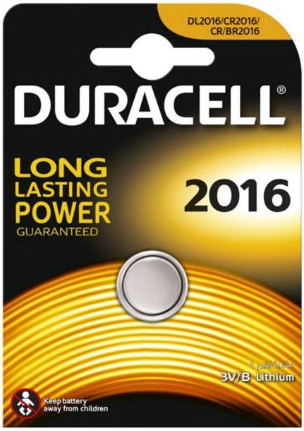 Батарейка литиевая Duracell. DL2016DRC-81469139Такой тип батареек предназначен для использования в различных электронных устройствах, например калькуляторах.Характеристики:Тип элемента питания: DL2016. Тип электролита: литиевый. Выходное напряжение: 3 В. Изготовитель: Индонезия.