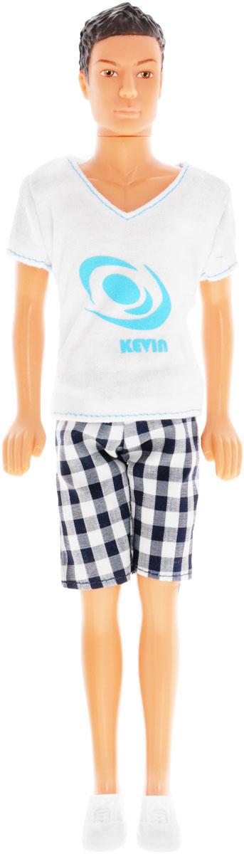 Simba Кукла Кевин спортсмен цвет белый черный simba кукла штеффи pop art цвет одежды розовый желтый
