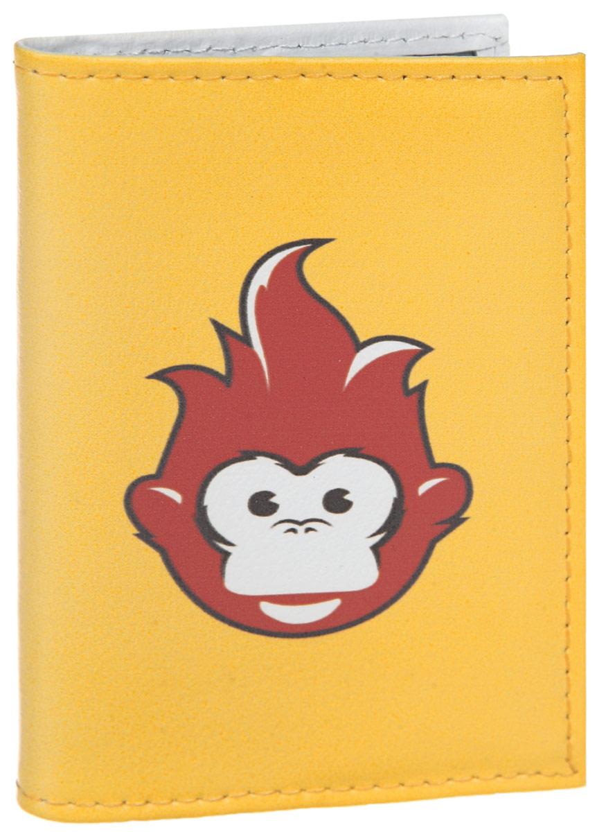 Визитница Огненная обезьяна. VIZIT308