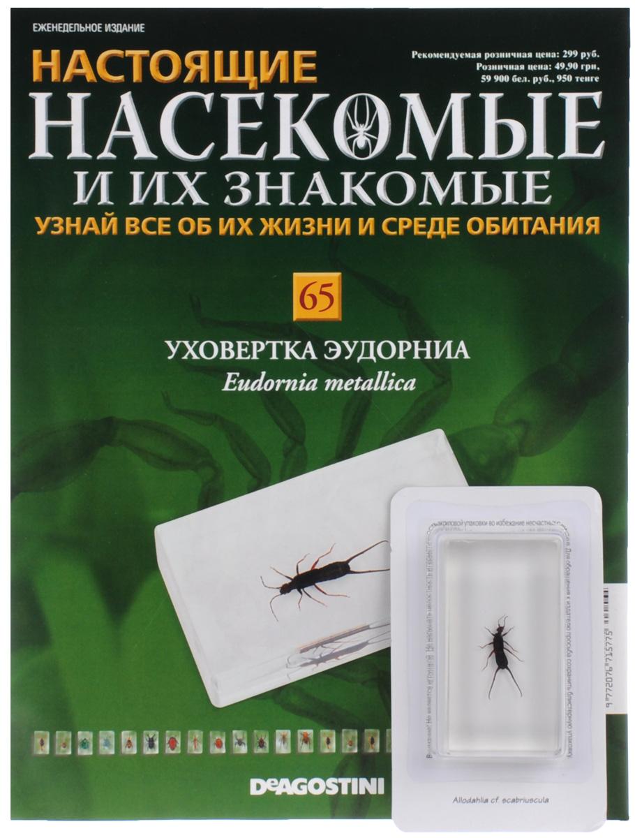 Журнал Насекомые и их знакомые №65 журнал насекомые и их знакомые 57